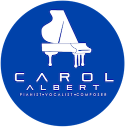 Carol Albert Pianist Vocalist Composer Smooth Jazz Artist - New Logo 2017