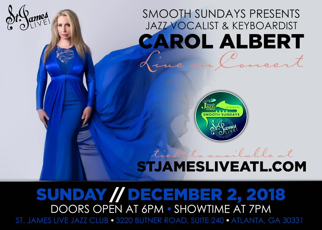 Carol Albert at St James Live in Atlanta