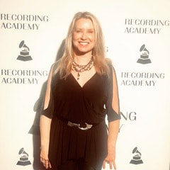 Carol Albert at the Atlanta Grammy Chapter